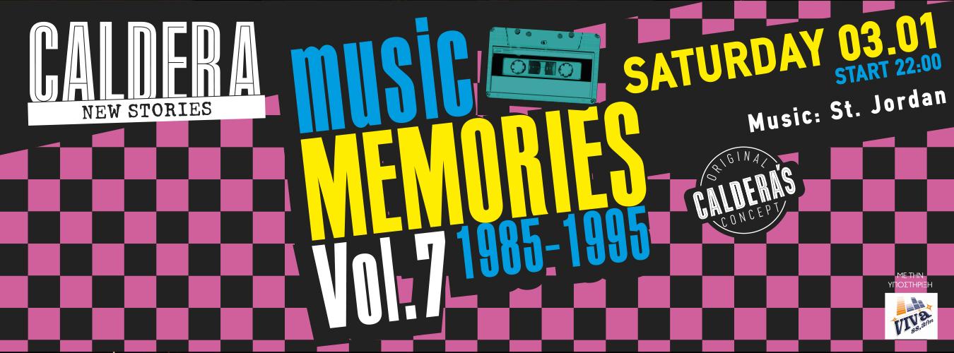 Music memories 1985-1995 vol.7 calderabar